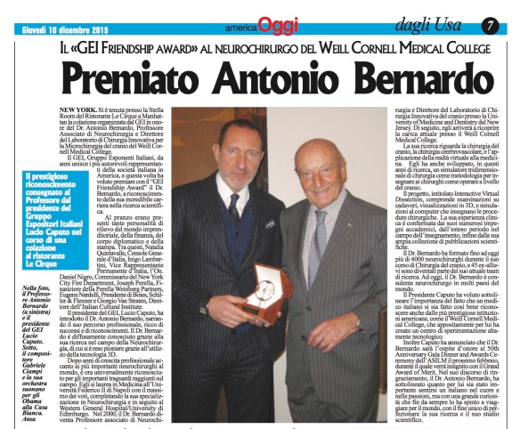 Article on Dr. Bernardo