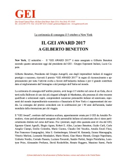 P.R. - GEI Award - 12-9-17